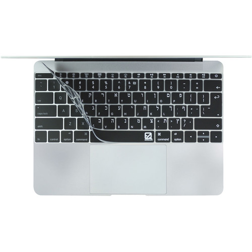 "EZQuest Hebrew/English Keyboard Cover for 12"" MacBook"