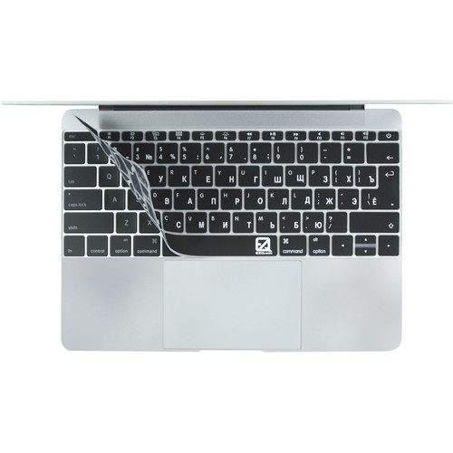 """EZQuest Russian/English Keyboard Cover for 12"""" MacBook"""