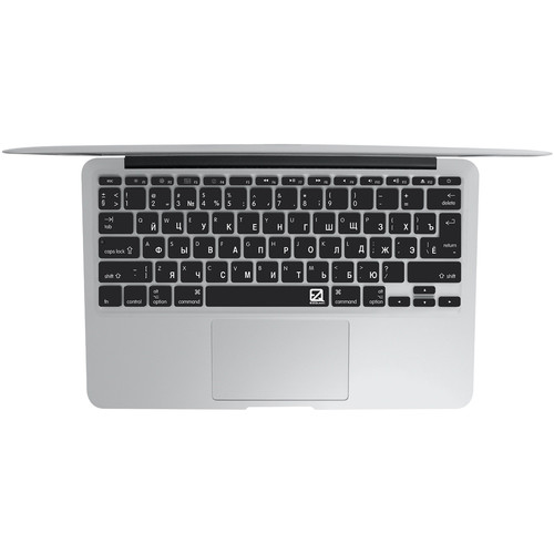 "EZQuest Russian Keyboard Cover for the 13.3"" MacBook Pro without Touch Bar (Late 2016) & 12"" MacBook (Early 2016)"