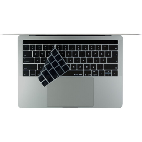 """EZQuest Turkish Keyboard Cover for the 13.3"""" MacBook Pro without Touch Bar (Late 2016) & 12"""" MacBook (Early 2016)"""