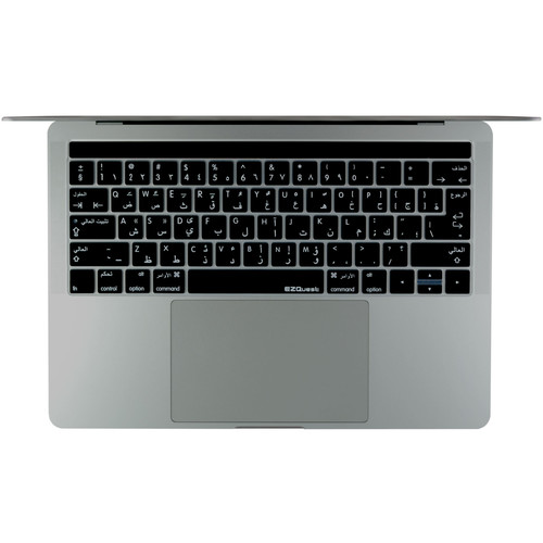 "EZQuest Arabic/English Keyboard Cover for the 13.3"" & 15.4"" MacBook Pro with Touch Bar (Late 2016)"