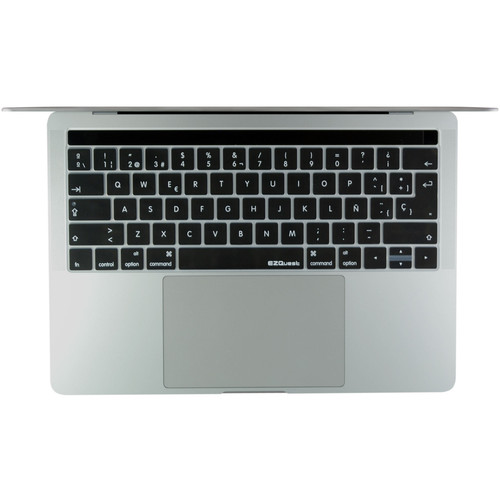 """EZQuest Spanish Keyboard Cover for the 13.3"""" & 15.4"""" MacBook Pro with Touch Bar (Late 2016)"""