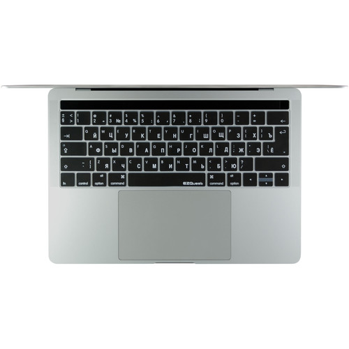"EZQuest Russian Keyboard Cover for the 13.3"" & 15.4"" MacBook Pro with Touch Bar (Late 2016)"