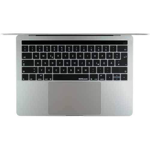 """EZQuest German Keyboard Cover for the 13.3"""" & 15.4"""" MacBook Pro with Touch Bar (Late 2016)"""
