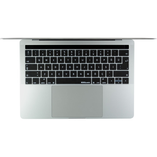 """EZQuest Turkish Keyboard Cover for the 13.3"""" & 15.4"""" MacBook Pro with Touch Bar (Late 2016)"""