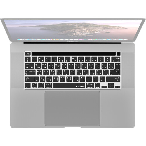 """EZQuest Arabic/English Keyboard Cover for Macbook Pro 13"""" and 16"""""""