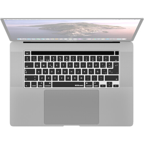 """EZQuest Spanish Keyboard Cover for Macbook Pro 13"""" and 16"""""""