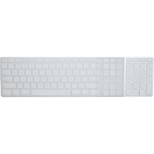 EZQuest Invisible Ice Keyboard Cover for Apple Wired Keyboard with Numeric Keypad