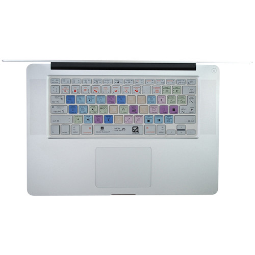 EZQuest Adobe Illustrator Keyboard Cover for MacBook, MacBook Air, MacBook Pro, and Apple Wireless Keyboard