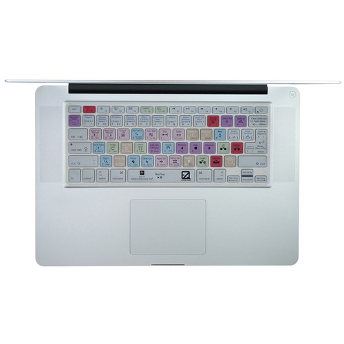 EZQuest Adobe Premiere Pro Keyboard Cover for MacBook, MacBook Air, MacBook Pro, and Apple Wireless Keyboard