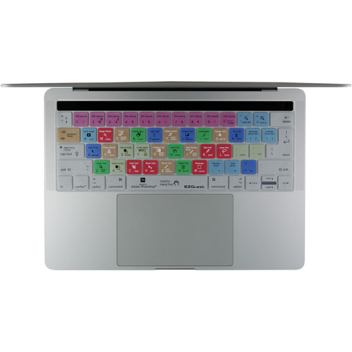 """EZQuest Adobe Photoshop Keyboard Cover for the 13.3"""" & 15.4"""" MacBook Pro with Touch Bar (Late 2016)"""