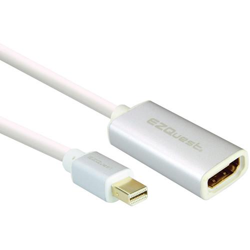EZQuest Alu Mini DisplayPort to HDMI Adapter