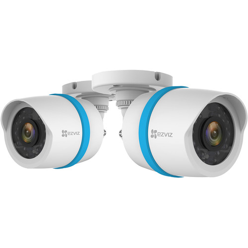 ezviz BC-122A 1080p Outdoor Network Bullet Camera with Night Vision (2-Pack)