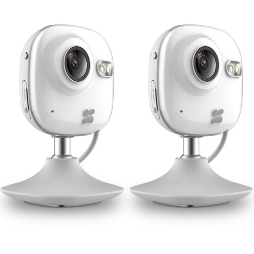 ezviz CV-100 720p Wi-Fi Network Mini Camera with Night Vision (2-Pack)