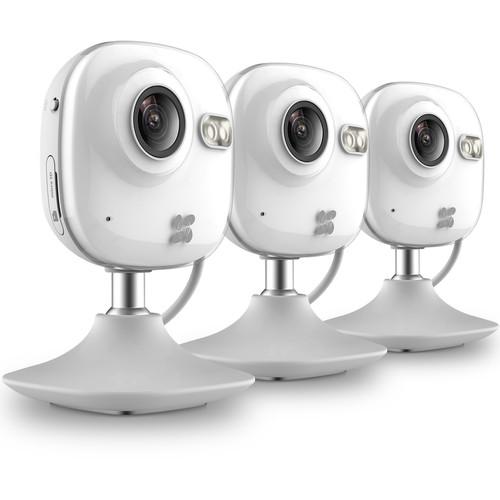 ezviz CV-100 720p Wi-Fi Network Mini Camera with Night Vision (3-Pack)
