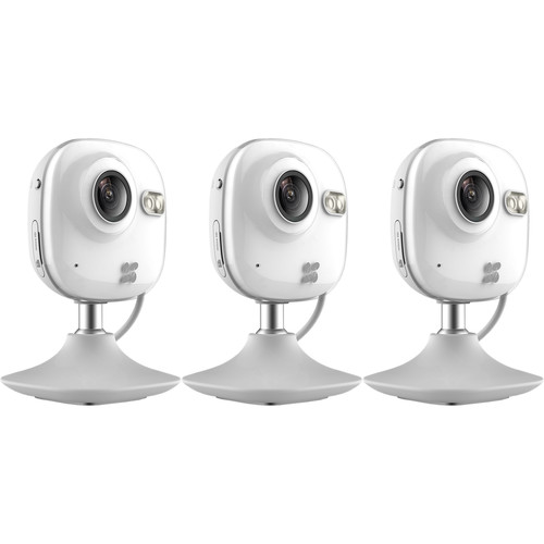 ezviz CV-100 720p Wi-Fi Network Mini Camera with Night Vision (3-Pack)