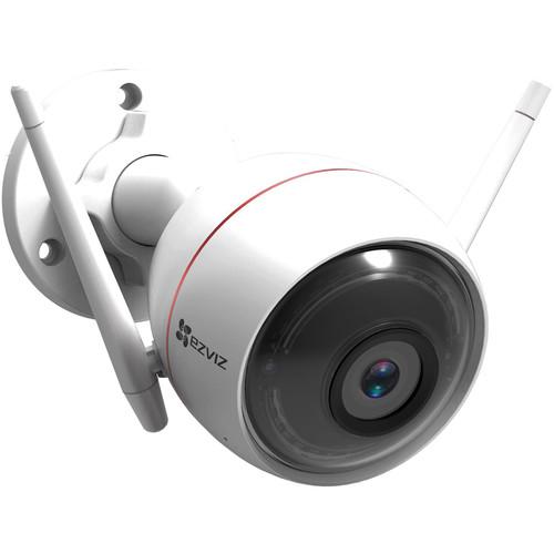 Ezviz C3W ezGuard Plus 1080p Outdoor Wi-Fi Bullet Camera with Night Vision & 16GB microSD Card