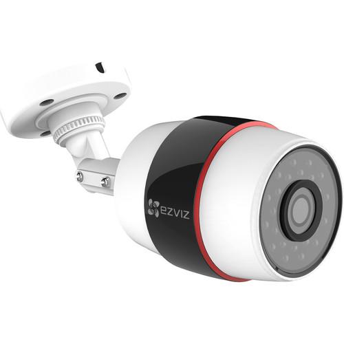 ezviz CV-210 Husky 1080p Outdoor Wi-Fi Bullet Cameras & 16GB microSD Cards Kit (3-Pack)