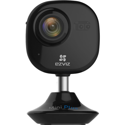 ezviz CV-200 Mini Plus 1080p Wi-Fi Camera with Night Vision (Black)