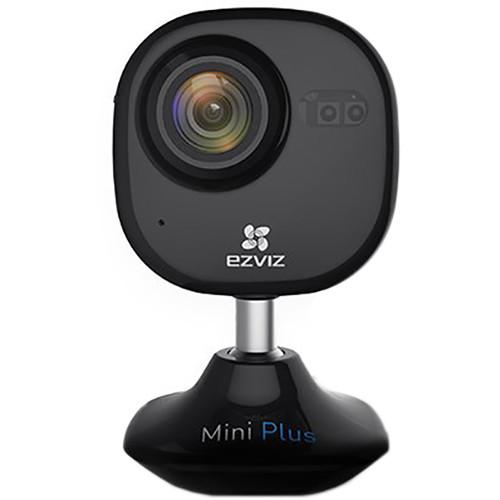 ezviz CV-200 Mini Plus 1080p Wi-Fi Camera with Night Vision & 16GB microSD Card (Black)