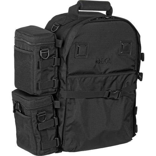 f.64 BP Large Backpack (Black)