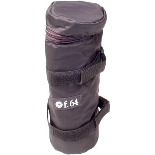 """f.64 LPX Large Lens Pouch - Holds Up to 11"""" Telephoto Lenses - Black"""