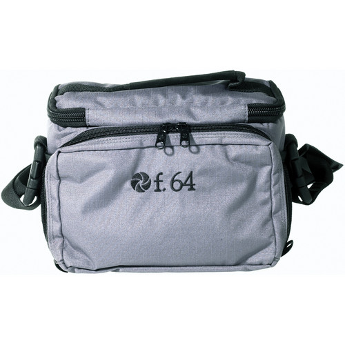 f.64 SU Shoulder Pack - for Film or Digital SLR Camera, 2 Lenses, Flash and Accessories (Gray)