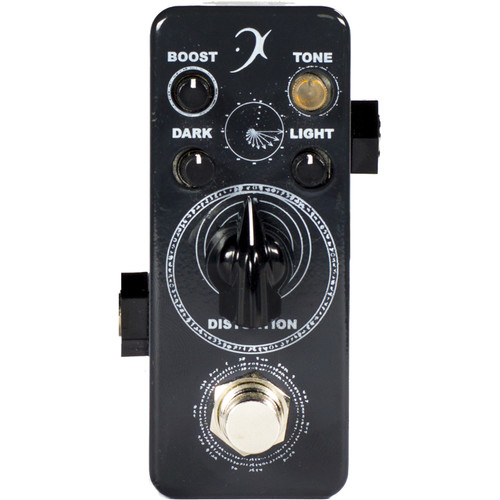 F-PEDALS Darklight Distortion Pedal with Multiple Boosts