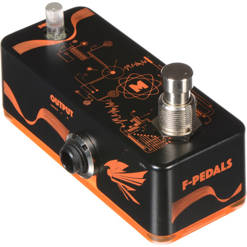 F-PEDALS Matterix - Neon Brothers Series - Boost Overdrive Pedal