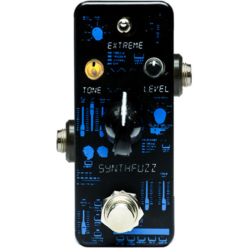 F-PEDALS Synthfonia Synthfuzz Pedal for Electric Guitars and Basses