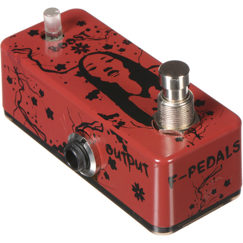 F-PEDALS Yurei Buffer Clean Boost Effect Pedal