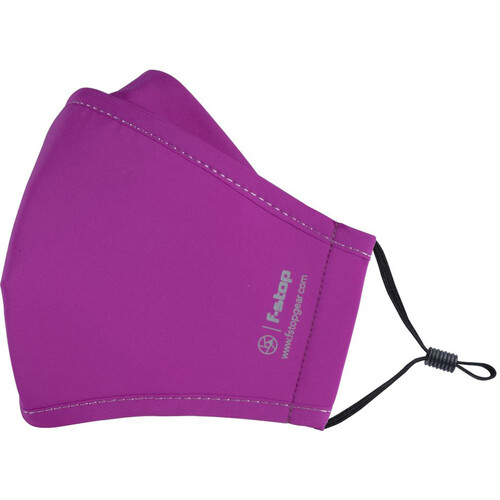f-stop DYOTA AG+ ION Reusable 3-Layer Antibacterial Fabric Adult Large Face Mask (Purple)