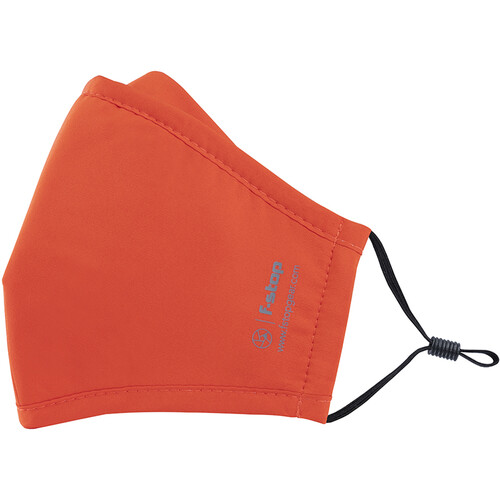 f-stop DYOTA AG+ ION Reusable 3-Layer Antibacterial Fabric Adult Large Face Mask (Orange)