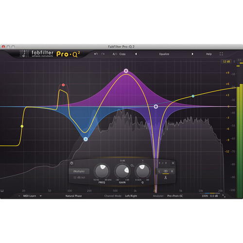 FabFilter Pro-Q2 EQ Plug-in Software