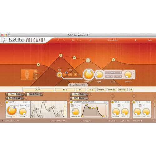FabFilter Volcano 2 Software Plug-In