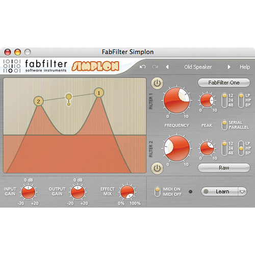 FabFilter Simplon Filter Plug-In