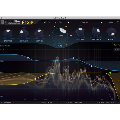 FabFilter Pro-R - Reverb Plug-In (Download)