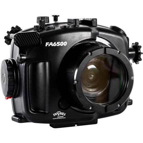 Fantasea Line Underwater Housing Kit for Sony A6300 and A6500 with FA6500 Housing and F Flat 34 Port
