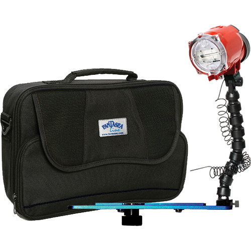"Fantasea Line Inon S-2000 Lighting Set with Underwater Strobe, Tray, and 12"" Flex Arm"