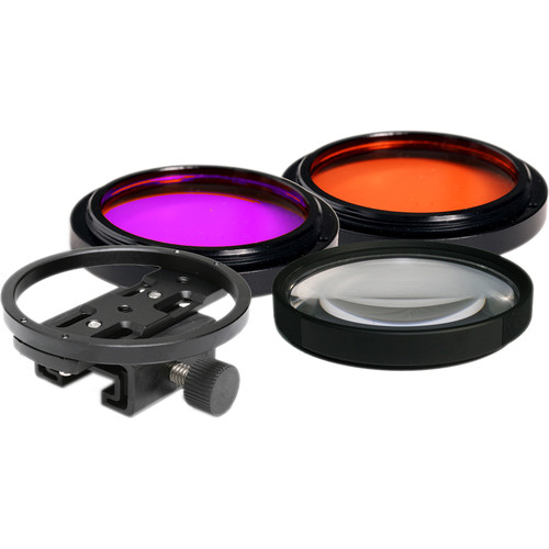 Fantasea Line Optics Set A for Lens Ports with 55mm Threads