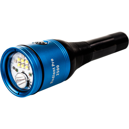Fantasea Line Radiant Pro 2500 Video LED Dive Light