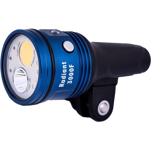 Fantasea Line Radiant 3000F Video LED Dive Light