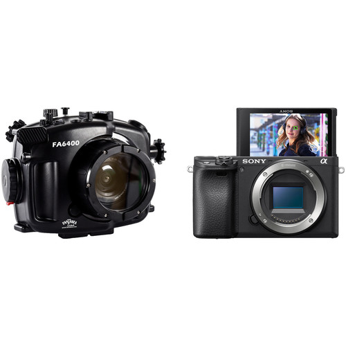 Fantasea Line FA6400 Housing and Sony Alpha a6400 Mirrorless Digital Camera Body Kit