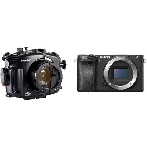 Fantasea Line FA6500 Underwater Housing and Sony Alpha a6300 Camera Body Kit