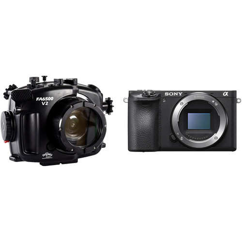 Fantasea Line FA6500 Underwater Housing and Sony Alpha a6500 Camera Body Kit