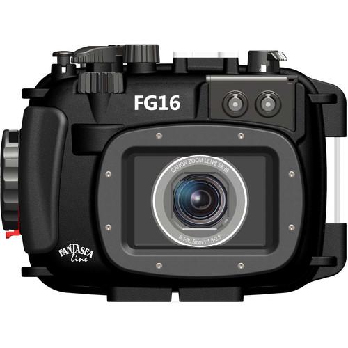 Fantasea Line FG16 Underwater Housing and Canon PowerShot G16 Digital Camera Kit