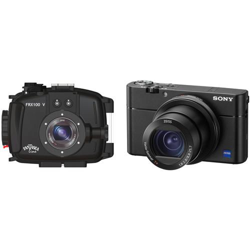 Fantasea Line FRX100 V Underwater Housing and Sony Cyber-shot DSC-RX100 V Digital Camera Kit