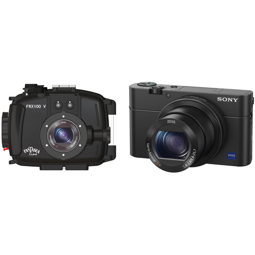 Fantasea Line FRX100 V Underwater Housing and Sony Cyber-shot DSC-RX100 IV Digital Camera Kit