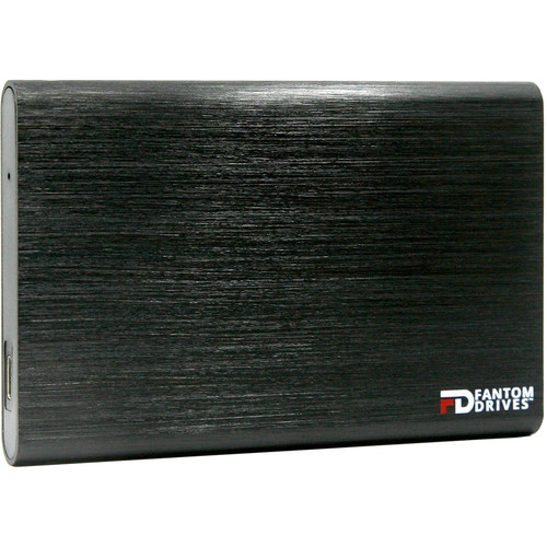 Fantom GFORCE 2TB USB 3.1 Type-C External SSD (Mac, Black)