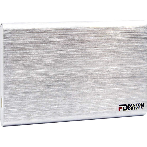 Fantom GFORCE 240GB USB 3.1 Gen 2 Type-C External SSD & PCIe USB 3.1 Gen 2 Host Adapter Bundle (Mac, Silver)
